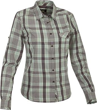 SALEWA Shirt Solu-Khumbu Dry Long Sleeve - Camisa/Camiseta para Mujer, Color Verde, Talla 38: Amazon.es: Ropa y accesorios