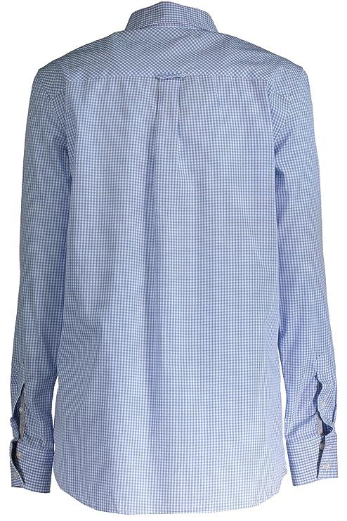 432128 Mangas Camisa Mujer 468 Azul Con Largas Las Gant 1403 40 CqpAxFfww