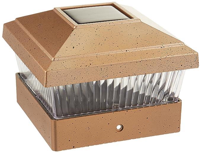 Iglow solar led post cap lights 5 x 5 inch copper pack of 8 iglow solar led post cap lights 5 x 5 inch copper pack of aloadofball Images