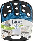 BackJoy SitSmart Tech Gel-On-The-Go-Relief (Adult 50 - 125 Kg, Black/Blue)