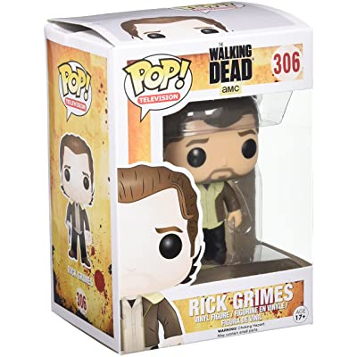 Funko Pop TV: Walking Dead Season 5 Rick Grimes Action Figure: Funko Pop! Television:: Toys & Games