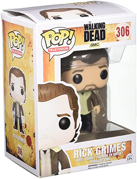 Funko Pop Vinyl Figure Walking Dead Rick Grimes