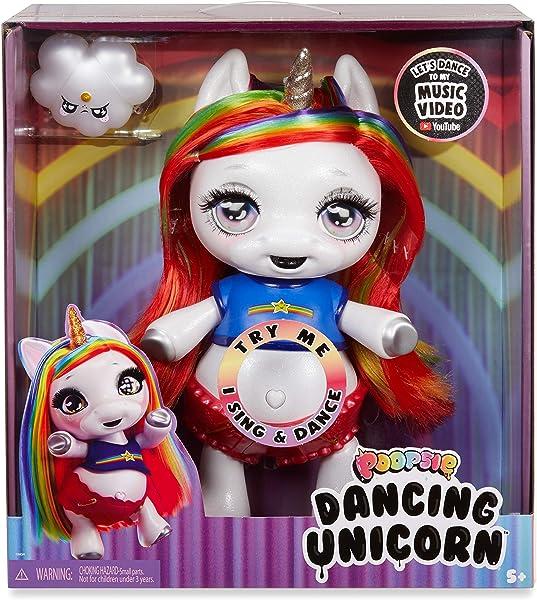Poopsie Dancing Unicorn Rainbow Brightstar singing interactive toy for kids in package