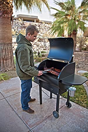 Camp Chef SmokePro DLX PG24 Pellet Grill with Patio Cover – Bundle Full Cover