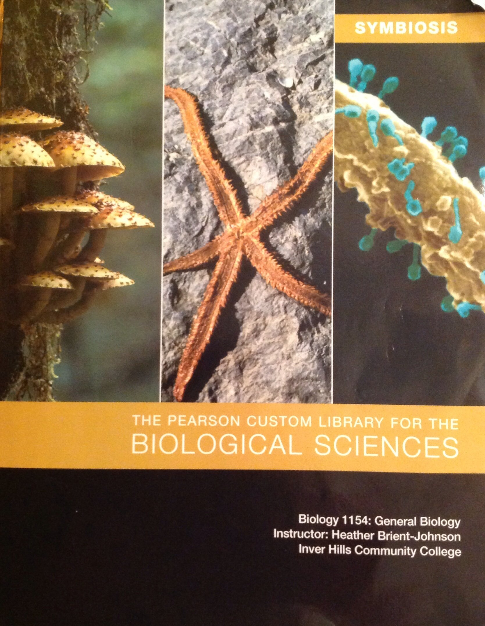 The pearson custom library for the biological sciences biology 1154 the pearson custom library for the biological sciences biology 1154 general biology inver hills community college pearson learning solutions fandeluxe Images