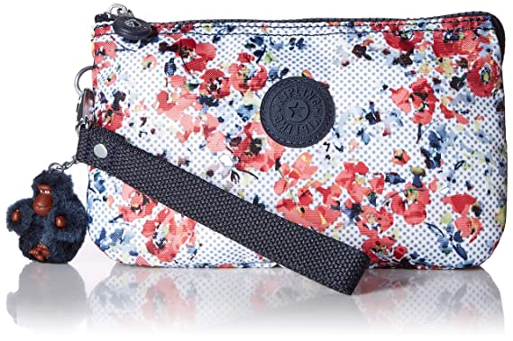 Kipling Creativity XL Printed Pouch, Busy Blossoms: Handbags ...