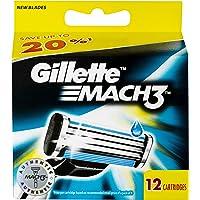 Gillette Mach3 Cartridges 12 Pack