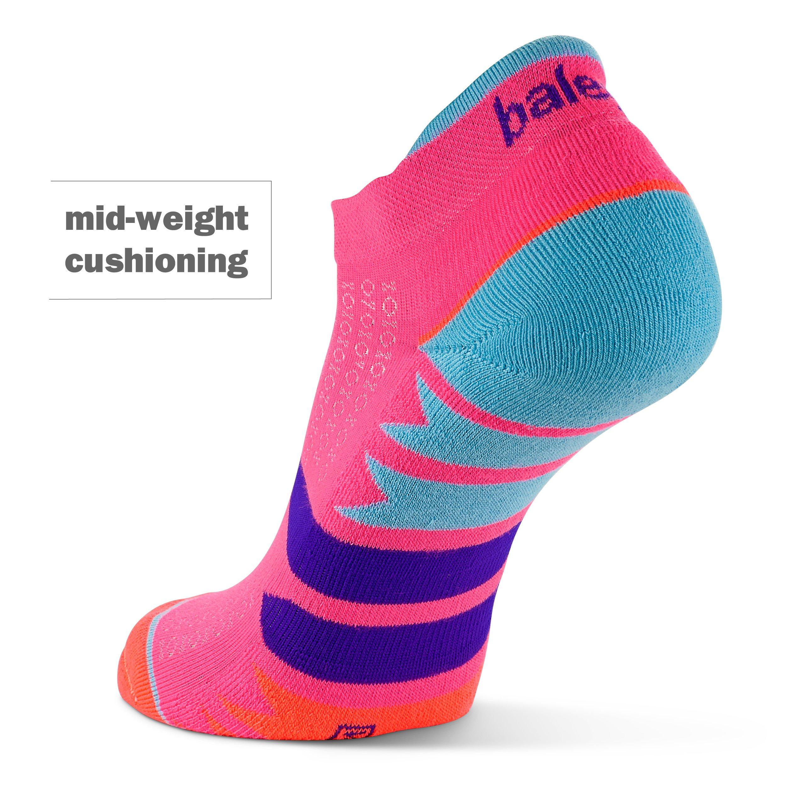 Balega Women's Enduro No Show Socks (1 Pair), Watermelon/Orange, Medium by Balega (Image #5)