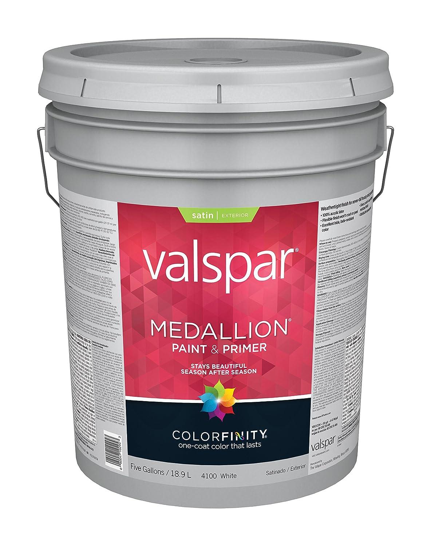 Medallion 100% Acrylic Exterior Latex Satin House And Trim Paint ...