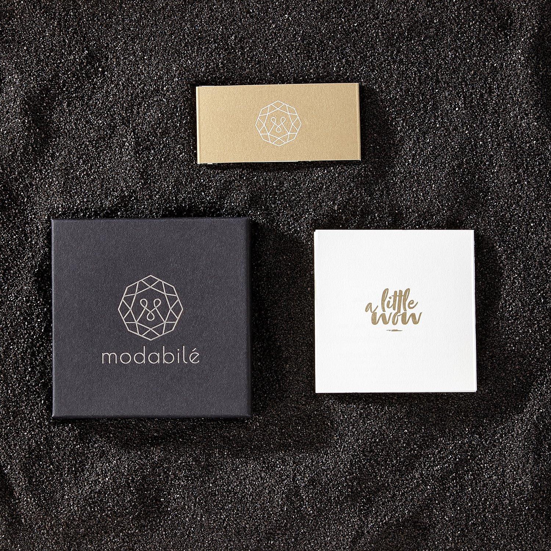 modabil/é Damen Ankerkette aus 925 Sterling Silber 1,55mm
