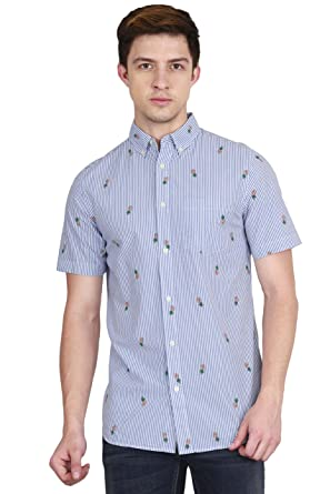 6ef98676c15 Old Navy Slim-Fit Soft-Washed Classic Shirt for Men  Amazon.in  Clothing    Accessories