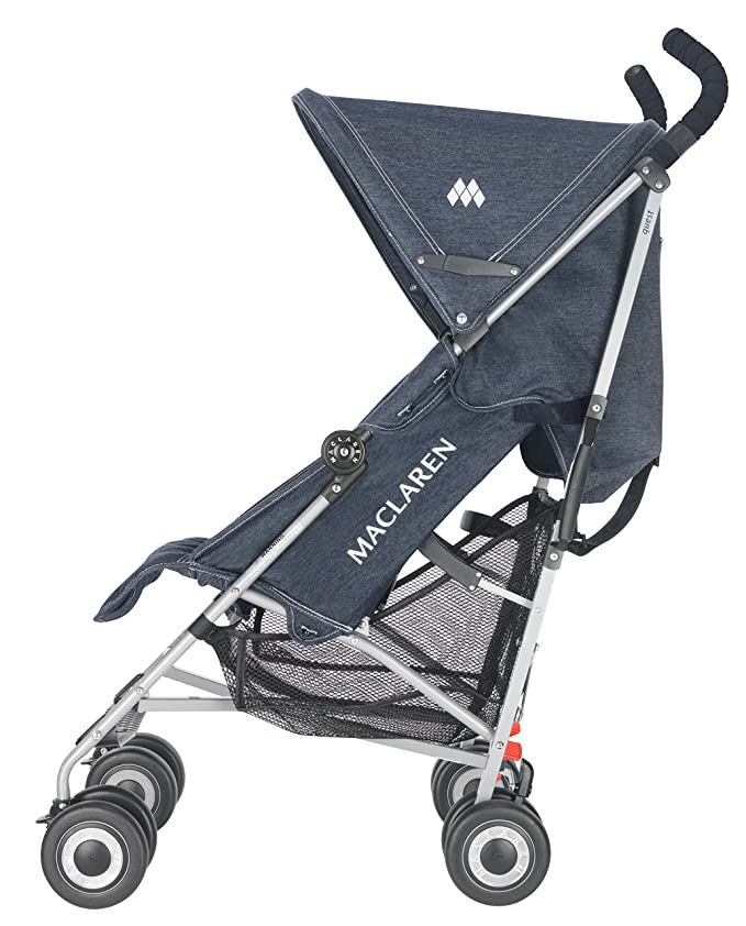 Maclaren Quest Stroller, Denim Indigo by Maclaren: Amazon.es ...