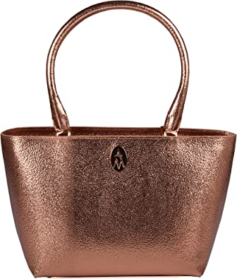 ANNA MILAN Bolso Tote Valentina Piel 100% italiana de la mejor calidad FABRICADO A MANO EN ESPAÑA: Amazon.es: Zapatos y complementos