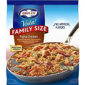 Birds Eye Voila! Family Size Fajita Chicken, Frozen Meal, 41 OZ