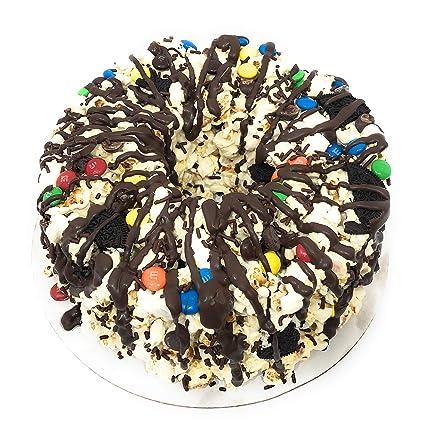 Miraculous Amazon Com Popcorn Cake Chocolate Birthday Party Cake Unique Gift Funny Birthday Cards Online Hendilapandamsfinfo