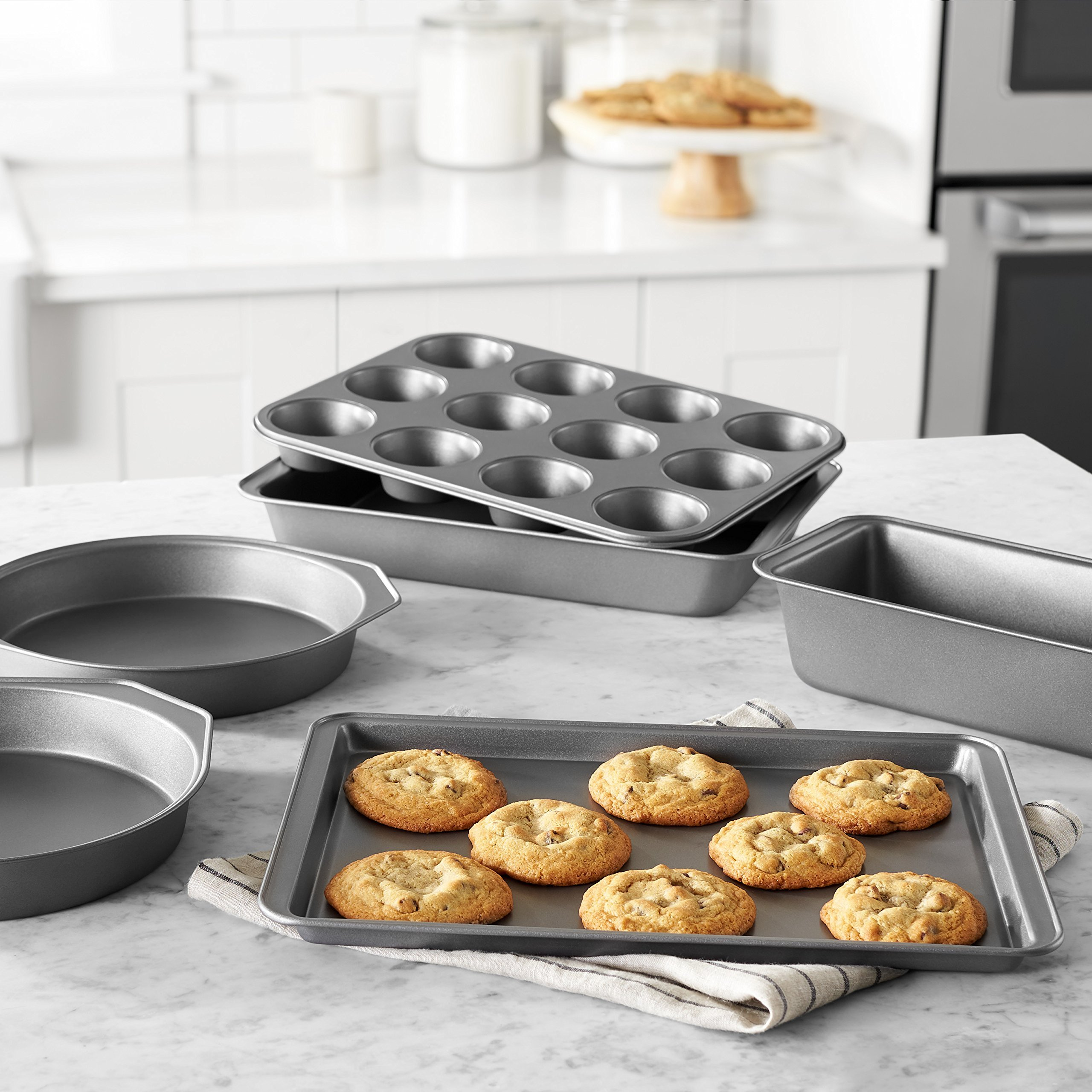 AmazonBasics 6-Piece Nonstick Bakeware Set by AmazonBasics (Image #2)