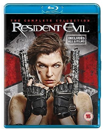 Resident Evil: The Complete Collection Reino Unido Blu-ray: Amazon.es: Sienna Guillory, Ali Larter, Oded Fehr, Iain Glen, Milla Jovovich, Ryan McCluskey, Oscar Pearce, Indra OvÄĹ , Anna Bolt, Joseph May, Paul W.S.