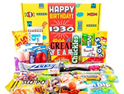 1930 Was a Great Year Retro Candy Gift Box
