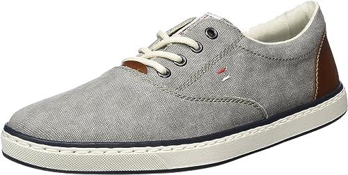 rieker Herren Low Sneaker Grau