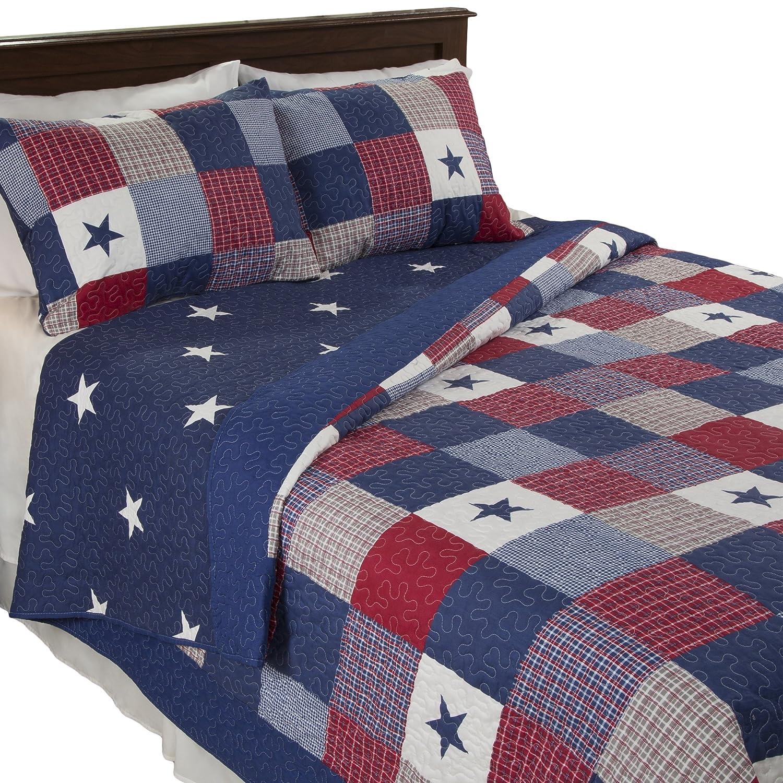 Amazon.com: Lavish Home Caroline 2 Piece Quilt Set   Twin: Home U0026 Kitchen