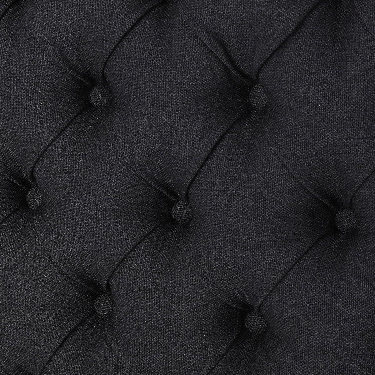 Hunter Dark Charcoal Fabric Queen/Full Headboard