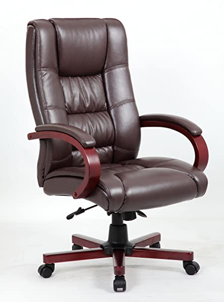 leather antique wood office chair leather antique. Antique Style Manager Directors Captain Wood High Back Leather Office Desk Chair