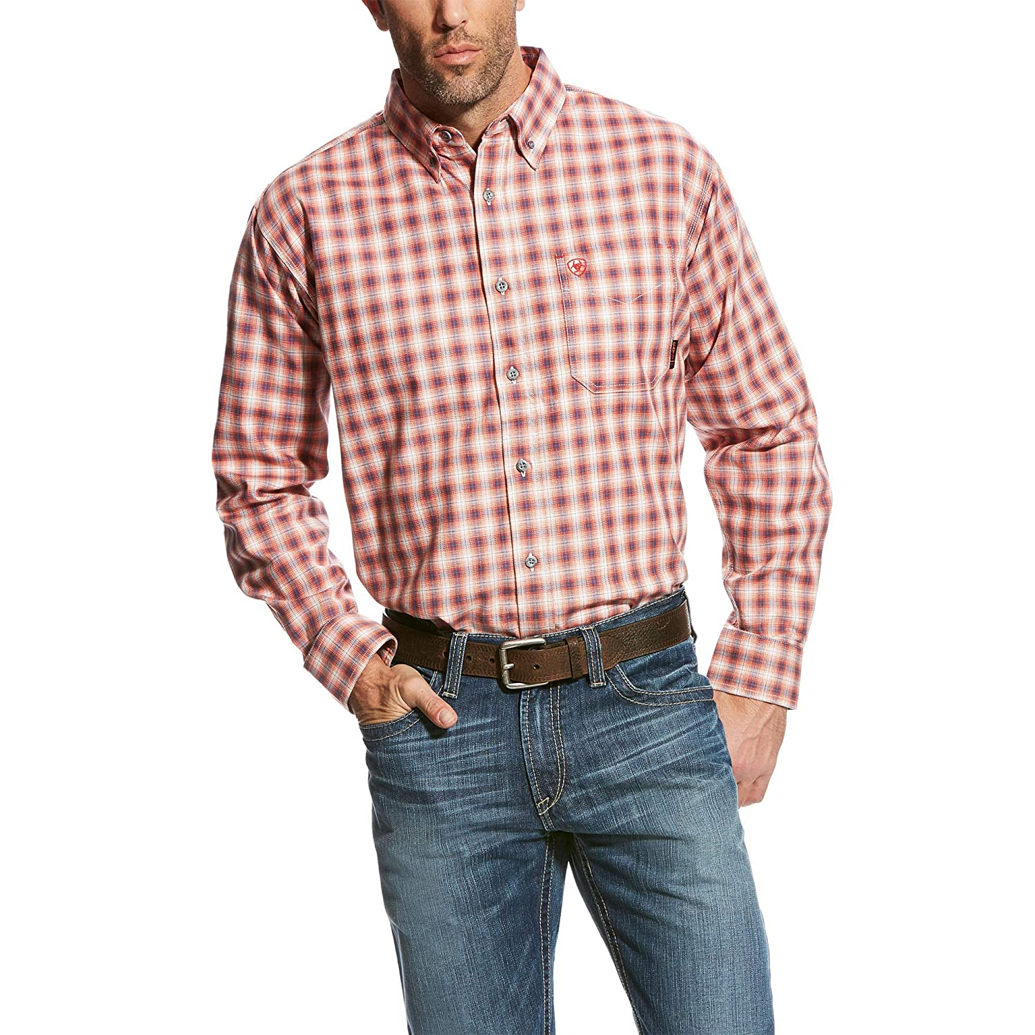 ARIAT Men's Fr Lundy Work Shirt