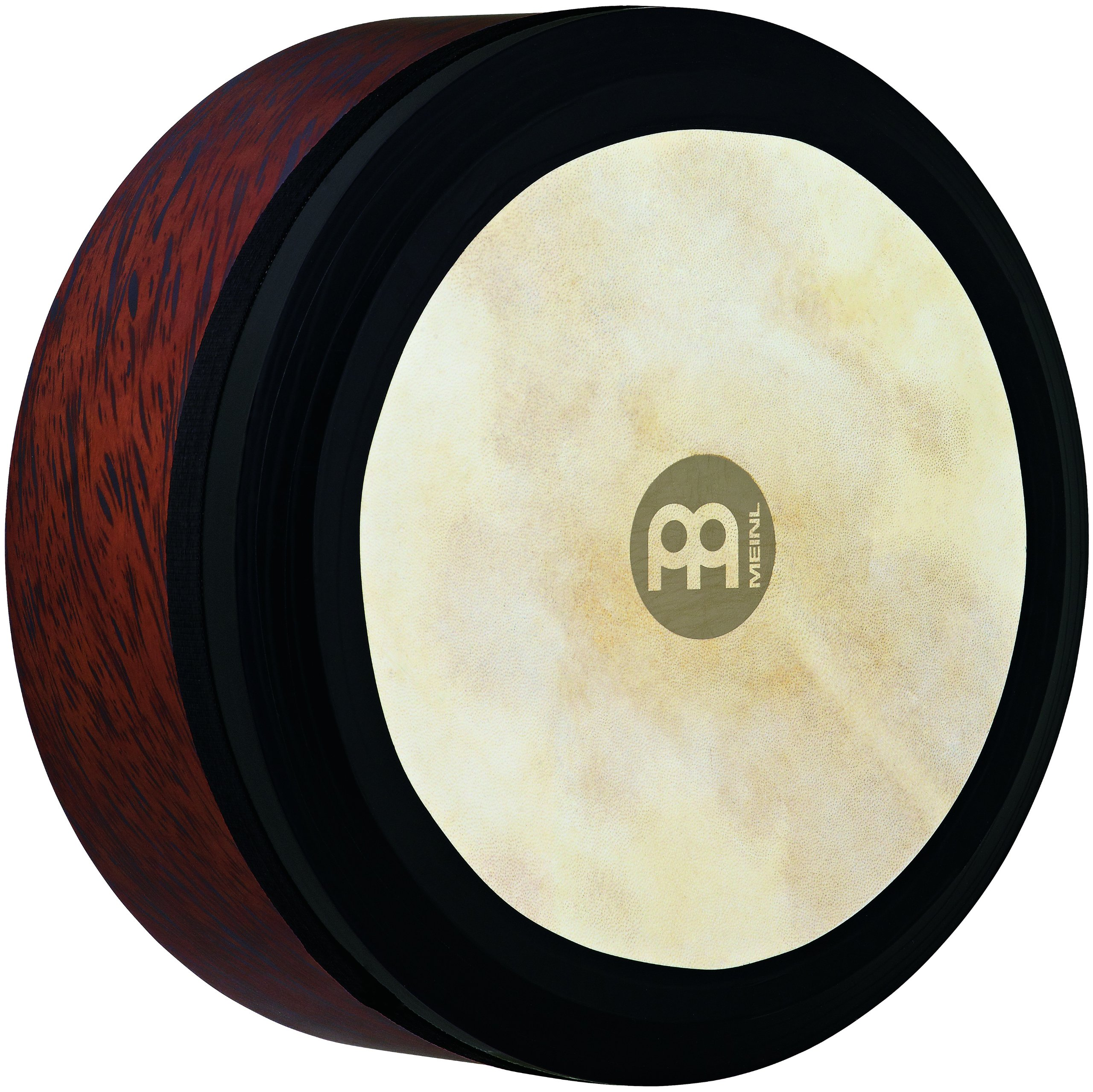 Meinl Percussion 14'' Frame Drum, Extra Deep Shell Irish Bodhran - NOT MADE IN CHINA - Goat Skin Head, Brown Burl, 2-YEAR WARRANTY, FD14IBO) by Meinl Percussion