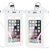 EOTW 2 Pack IPX8 Universal Waterproof Case for