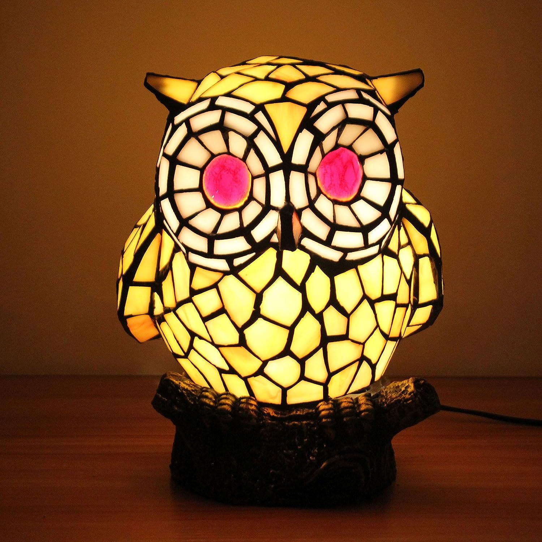 GEYAO Europäische kreative schöne schöne schöne gelbe Eule Schlafzimmer nachttischlampe Kinder Lampe Weihnachten Muttertag wenig Geschenk nachtlicht B07JR7W9ZD     | Bekannt für seine hervorragende Qualität  06ba3f