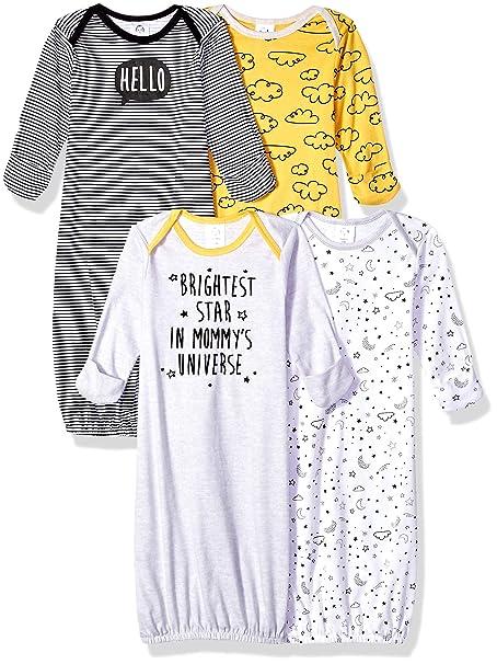 Gerber Baby Boys' 4-Pack Gown, Star, Preemie: Amazon ca