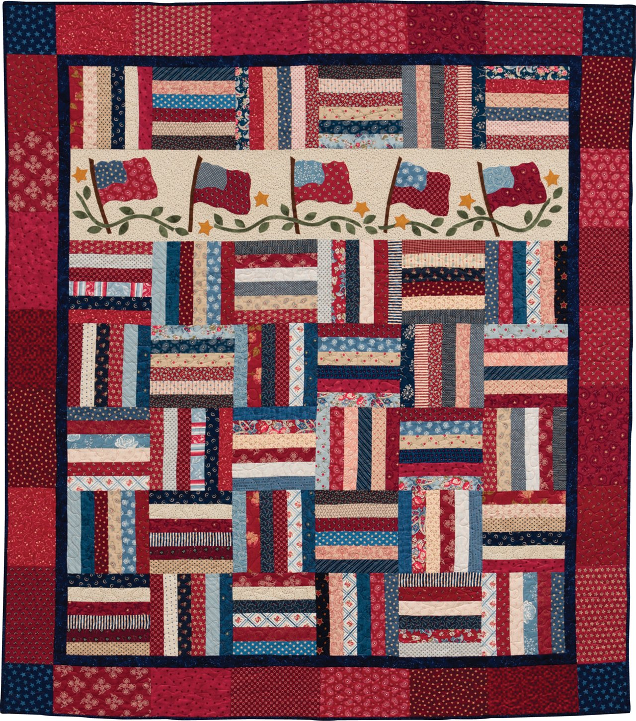 Patchwork Plus Easy One Block Quilts With Seasonal Applique