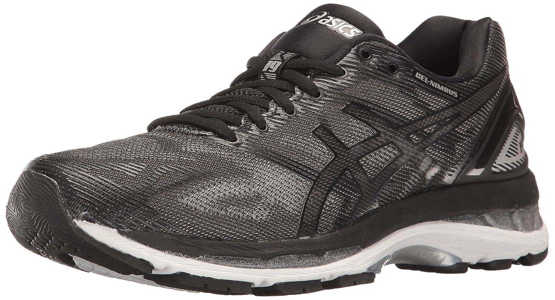 ASICS Women's Gel-Nimbus 19 Running Shoe B01N4GD52N 6.5 D US|Black/Onyx/Silver