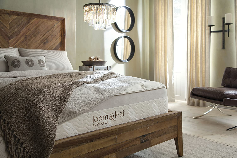amazon com loom and leaf memory foam mattress kitchen dining