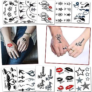 a0e17e1a25d5cf Temporäre Tattoos Verschiedene Stile und Körperkunst Designs – Fake Tattoos  für Erwachsene und Jugendliche Tattoos für