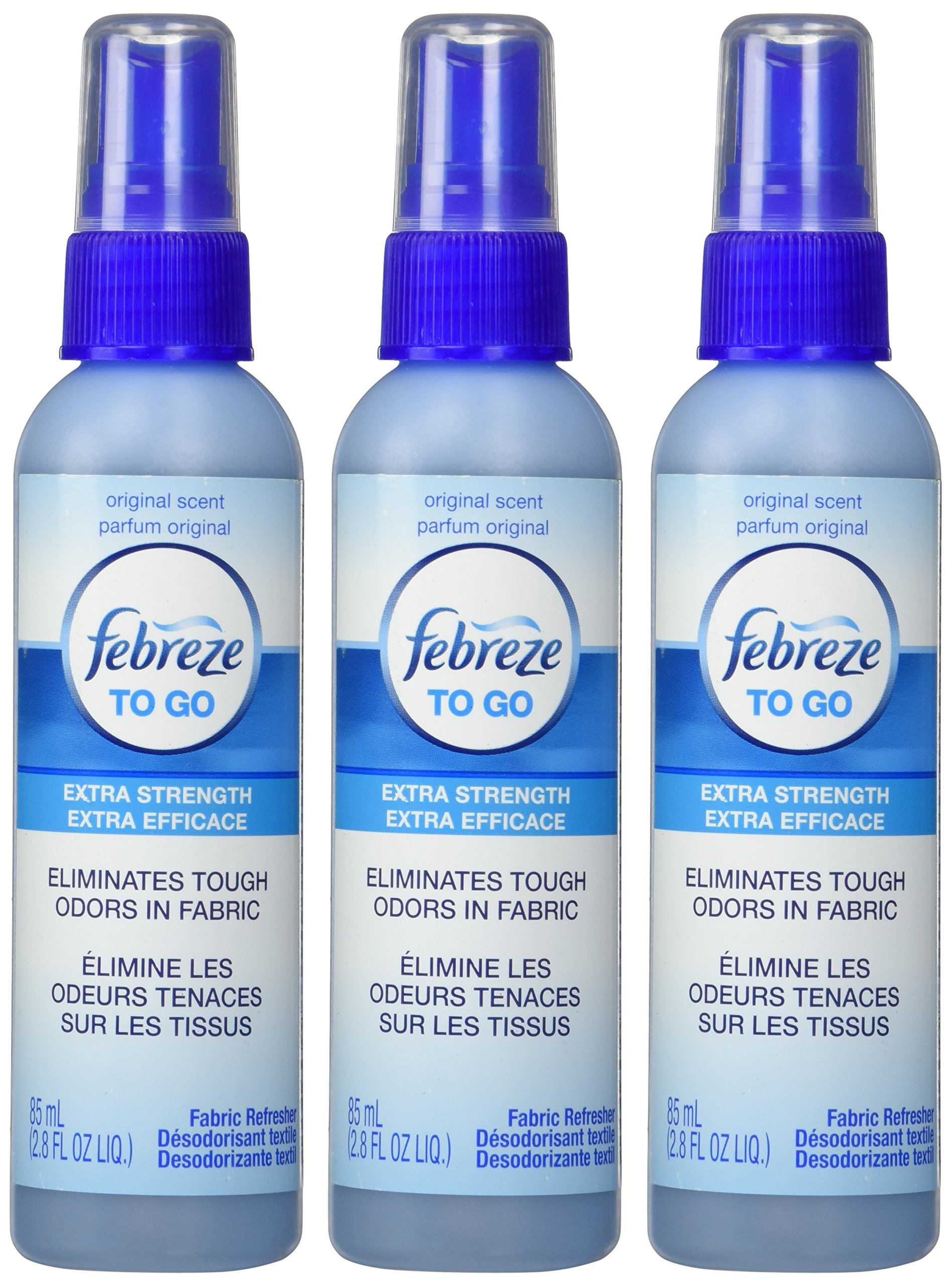 Febreze To-Go Fabric Refresher 2.8 oz, 3 Pack