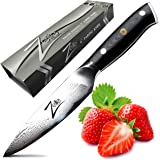ZELITE INFINITY Paring Knife 4 inch - Alpha-Royal Series - Best Quality Japanese VG10 Super Steel 67 Layer High Carbon Stainless Steel Razor-Sharp Superb Edge Retention, Stain & Corrosion Resistant