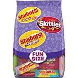 Skittles Original, Starburst Original, and Starburst Original Jellybeans Candy Easter Variety Bag, 20.4 Ounce Stand Up Bag
