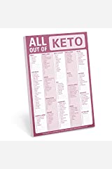 Knock Knock All Out Of Pad (Keto), Keto Diet Grocery List Note Pad Mass Market Paperback