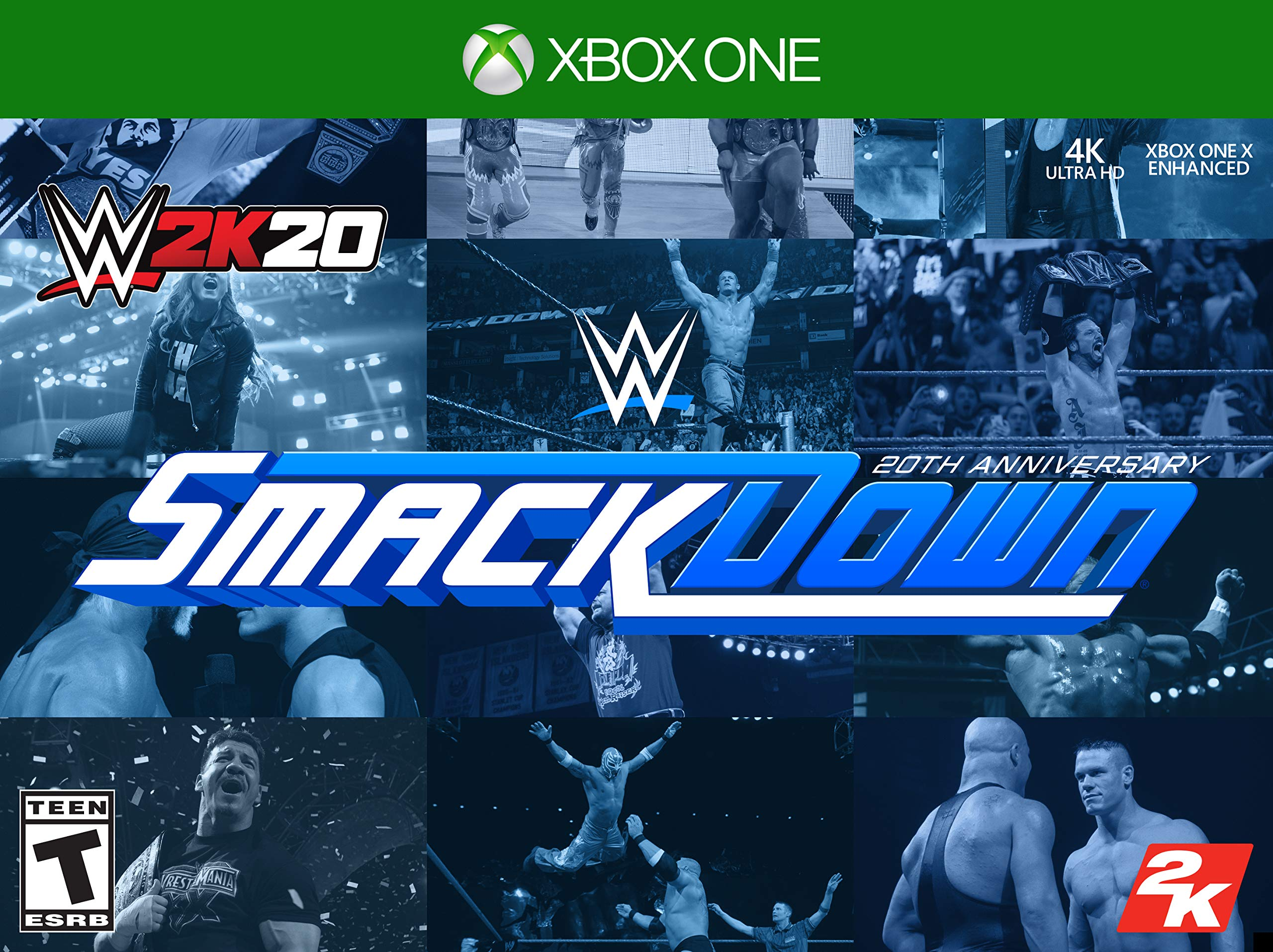 WWE 2K20 SmackDown! 20th Anniversary Edition - Xbox One