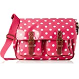 Swanky Swans Ashley Polka Dot, Damen Messengerbag