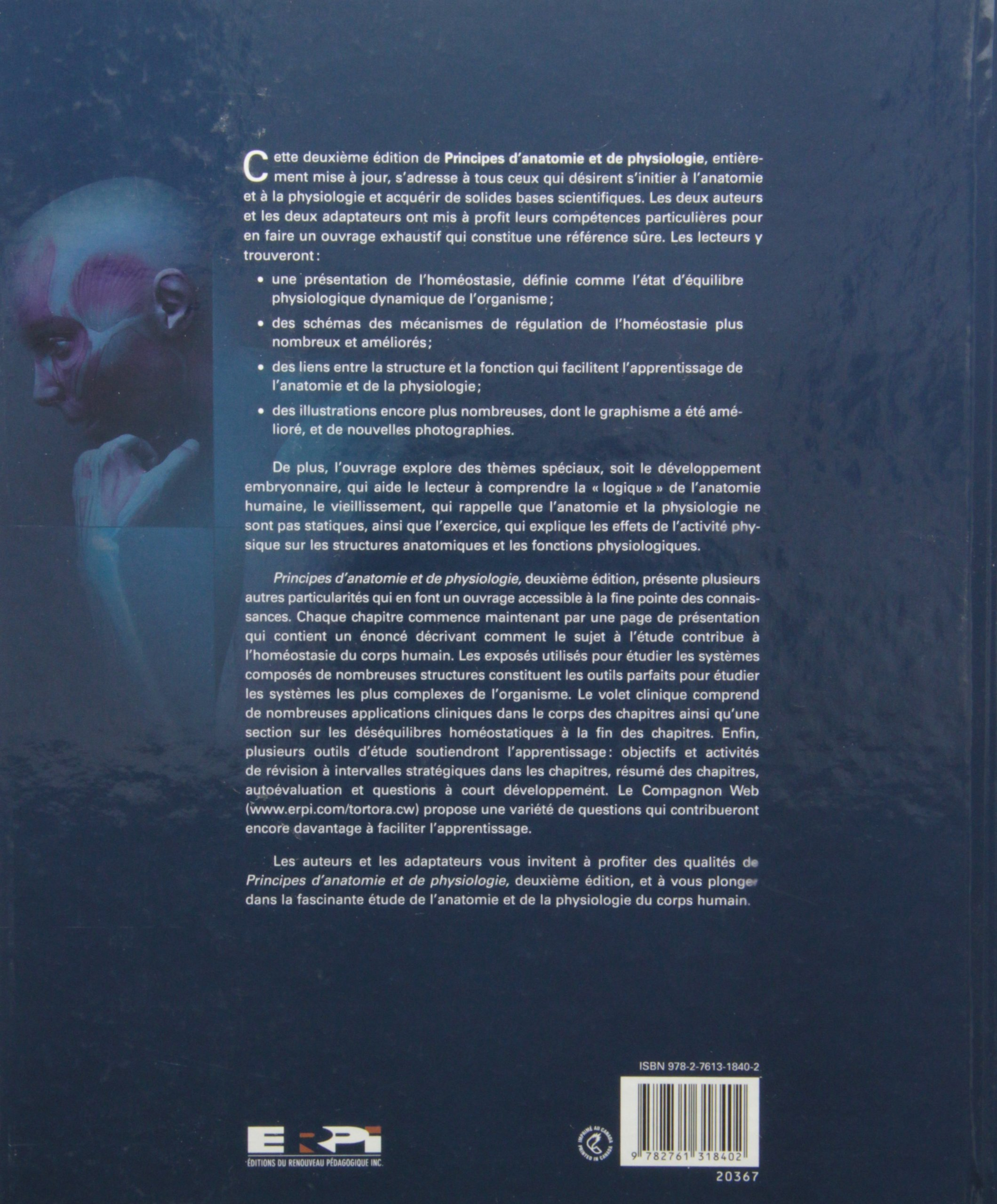 Principes anatomie & phys.2e tortora: Amazon.ca: Tortora: Books