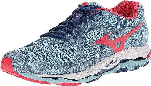 Mizuno Women's Wave Paradox Running Shoe, Porcelain Blue