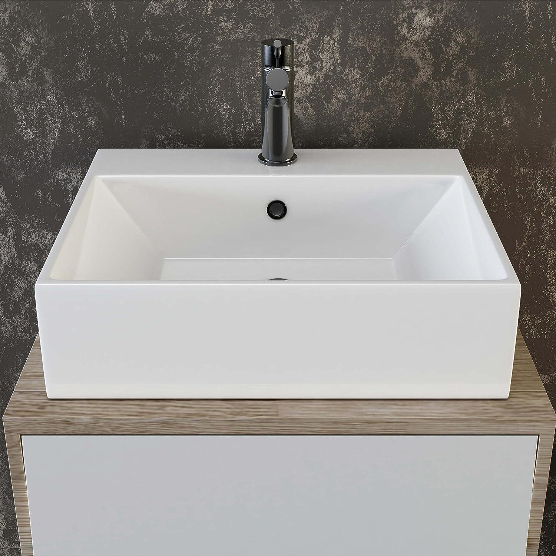 eckige waschtische perfect waschbecken mit ablaufrinne. Black Bedroom Furniture Sets. Home Design Ideas