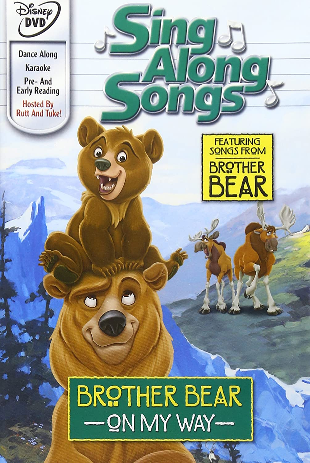 Brother Bear On My Way Sing Along Songs Dvd 2003 Region 1