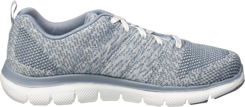 Skechers Flex Appeal 2.0-High Energy, Sneaker Donna Grigio Slate