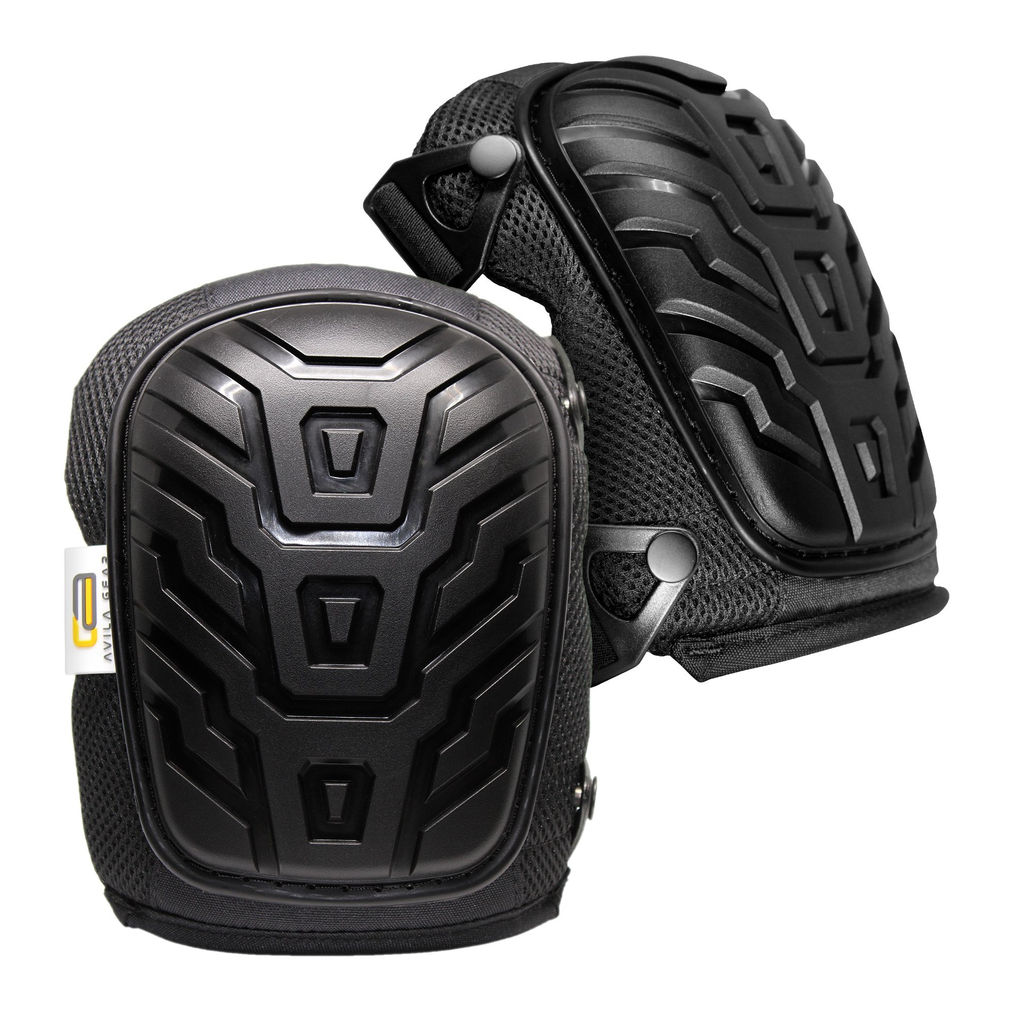 Knee Pads for Work Construction Flooring and Gardening â Comfort and Safety for Heavy Duty Work â Professional Protective Gear with Soft Gel Cushion, Foam Padding and Strong Adjustable Double Straps
