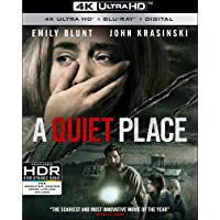 A Quiet Place on 4K/UHD + $5 Gift Card