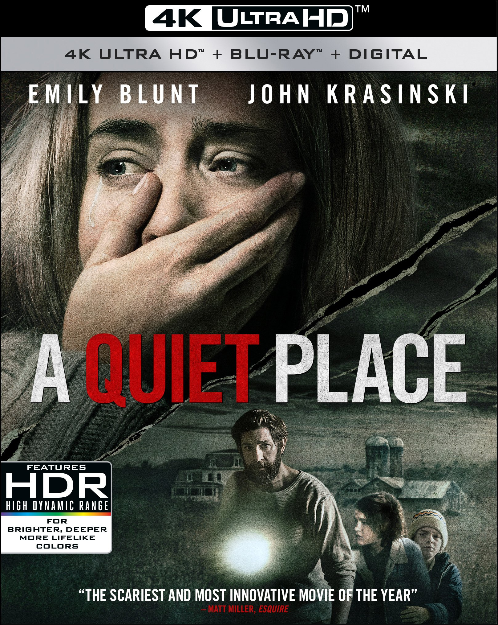 Blu-ray 3D : A Quiet Place (With Blu-Ray, 4K Mastering, Dolby, AC-3, Digital Theater System)