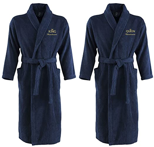 Sol\'s Palace Bath Robe Dressing Gown Embroidered with your Name ...